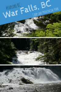 War Falls, BC - Beautiful British Columbia - Carp Lake Provincial Park - Prince George - McLeod Lake - Mackenzie - Hiking with Kids