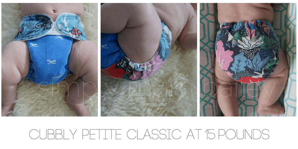 Cubbly - WAHM Fitted Diaper - Classic Petite - Baby