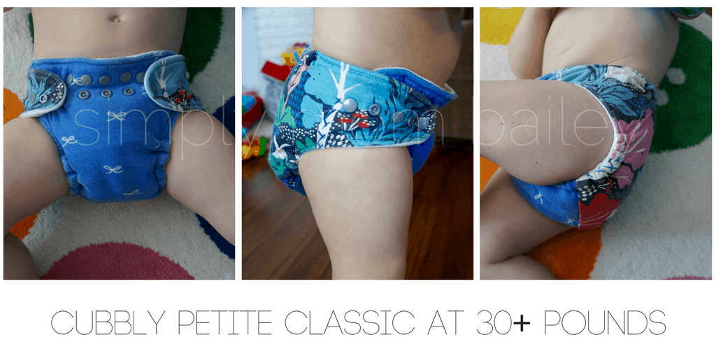 Cubbly - WAHM Fitted Diaper - Classic Petite - Toddler