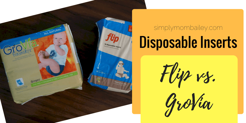 Disposable Inserts - Flip Disposable Insert Versus GroVia Biosoaker - Cloth Diapers