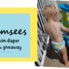 Nuggles Swimsees Cloth Diaper Review Swim Diaper