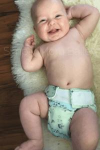 Simply Mom Bailey - Omaiki AIO Cloth Diaper - Little Miss