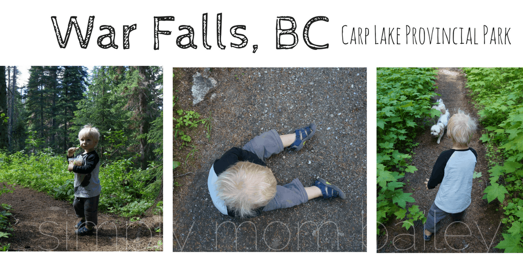 War Falls, BC, Hiking with Kids, Explore BC, BC with Kids