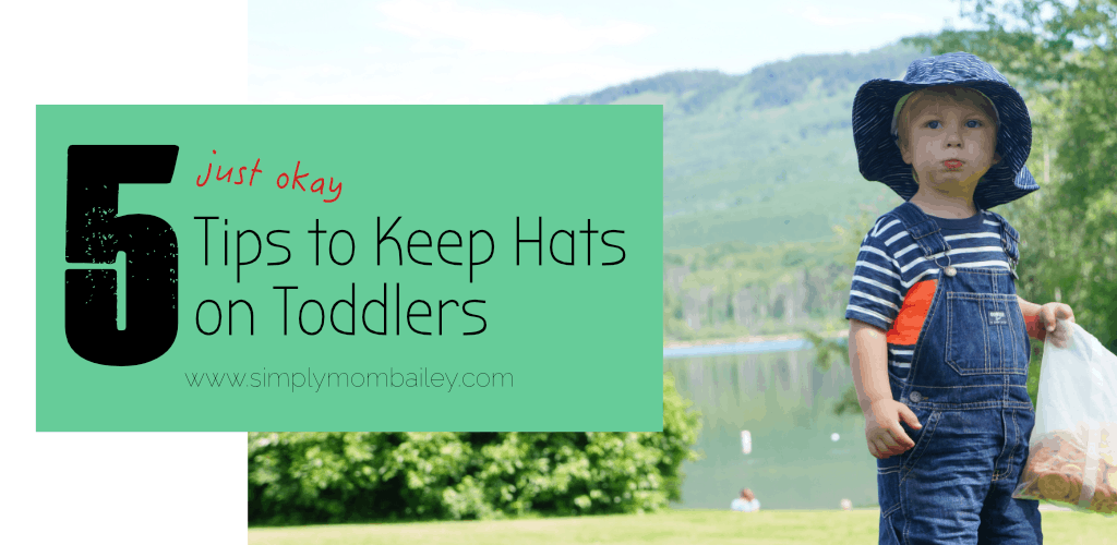 5 Tips to Keep Hats on Toddlers - Twinklebelle Gro-with-me sunhat review ace0eb4ce10d