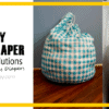 Dirty Diaper Storage Solutions with Buttons Diapers-Cloth-Diapers