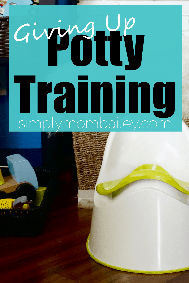 Giving up Potty Training for Potty Learning
