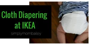 IKEA Cloth Diaper – Himmelsk Burp Cloth