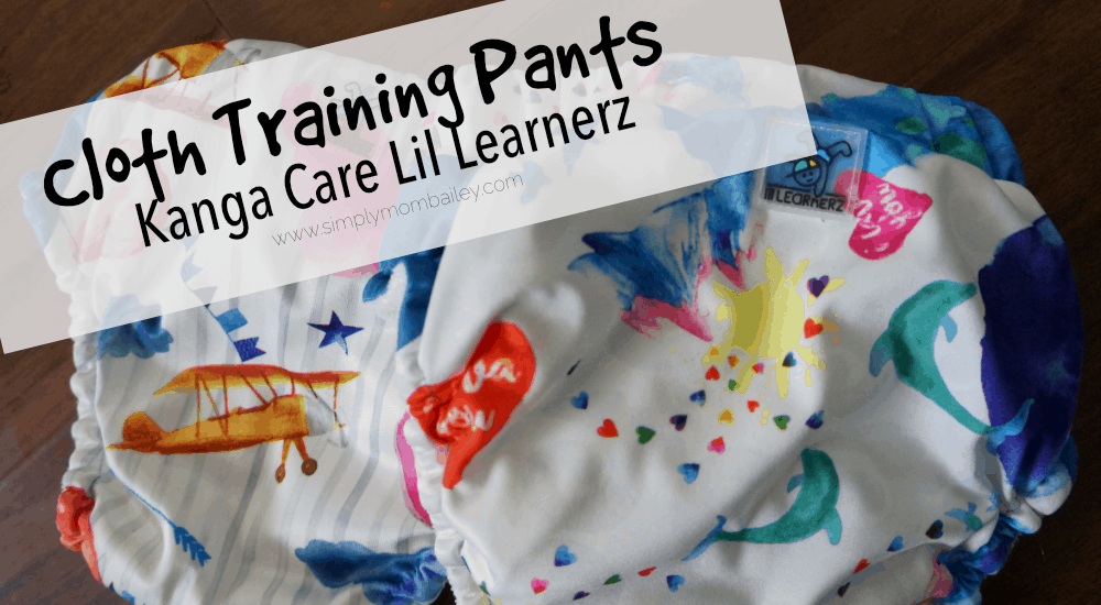 Kanga Care Lil Learnerz Training Pants Review - Cloth Training - Potty Training - Potty Learning - Learning Pants - Cloth Diapers - KangaCare - Lil Learners Review
