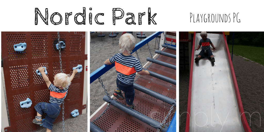 Nordic Playground - Prince George Playgrounds - Hart Park