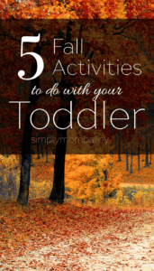 5 Fall Activities to to do with your toddler - things to do in Prince George with Kids -