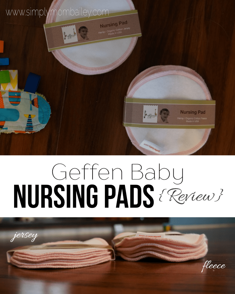 Breastfeeding Mom Essentials - Geffen Baby Nursing Pads - Geffen Baby Hemp Fleece Nursing Pads - Geffen Baby Hemp Jersey Nursing Pads - Breastfeeding Pads - Essentials for Breastfeeding
