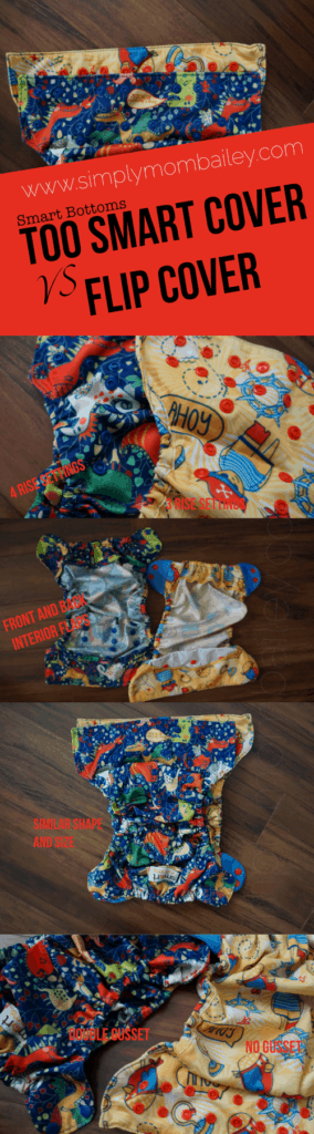 Smart Bottoms Too Smart Cover compared to a Flip One Size Cover | Cloth Diaper Comparisons | Newborn Cloth Diapers | Toddler Cloth Diapers | Smart Bottoms | Cotton Babies | Cloth Diaper Covers | Cloth Diapers | Reusable Diapers | Cloth Nappies | Made in the USA