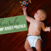 Geffen Baby Hemp Jersey Prefold Cloth Diaper Review {& GIVEAWAY}