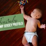 Geffen Baby Hemp Jersey Prefold Cloth Diaper Review {& GIVEAWAY}