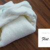 Folding Flat Cloth Diapers: Kite Fold