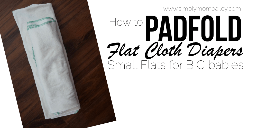 How to Padfold Flat Diapers