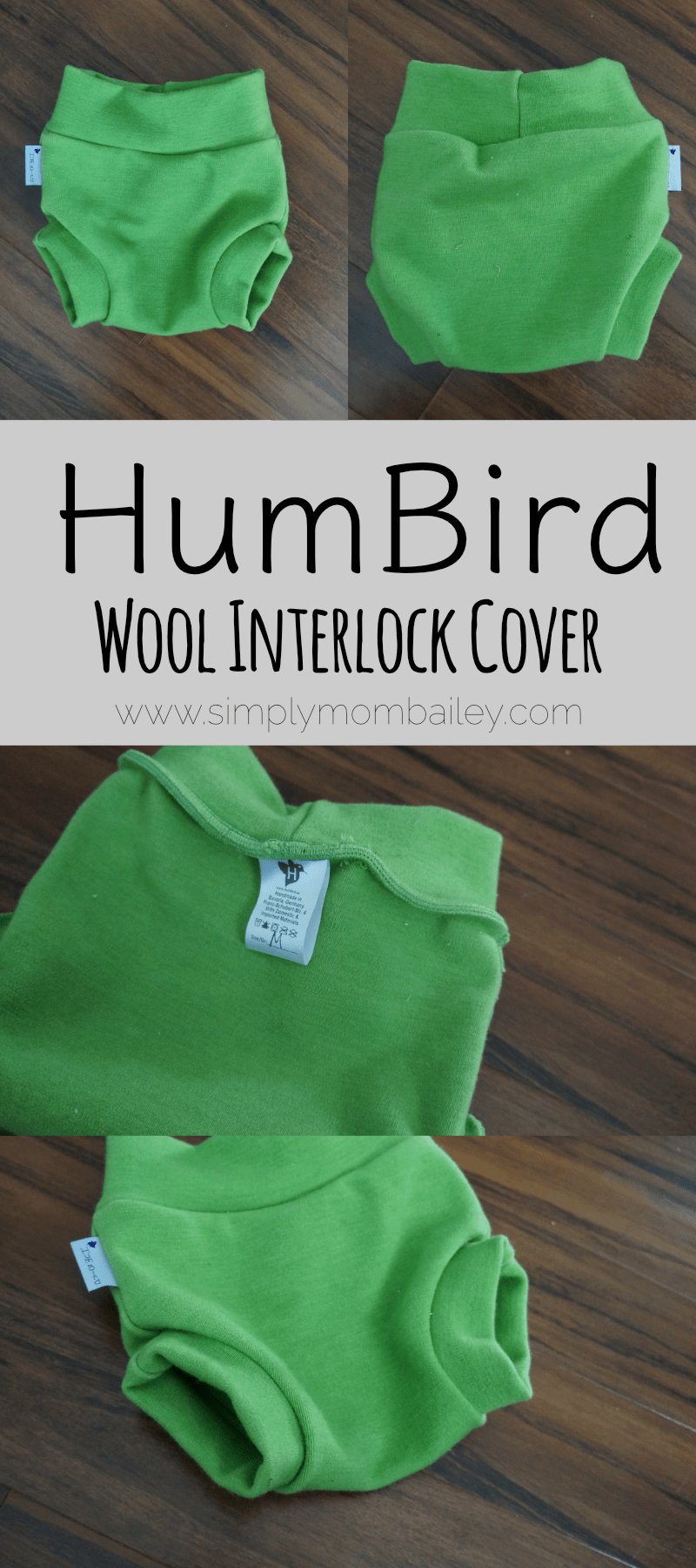 HumBird Wool Interlock Cover - Wool Cover - Wool - Cloth Diaper - Made in Germany - WAHM - Babies - Night Time Cloth Diaper