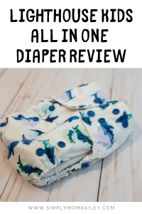 Lighthouse kids all in one diaper review