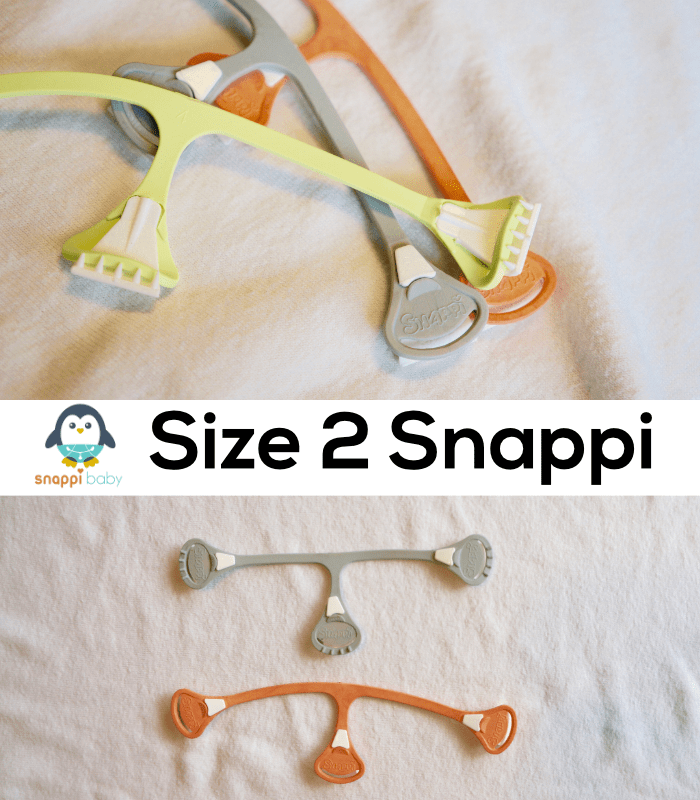 Size 2 Snappi for Toddlers - Flat Cloth Diapers - Diaper Fasteners - Diaper Pins - Modern #clothdiapers