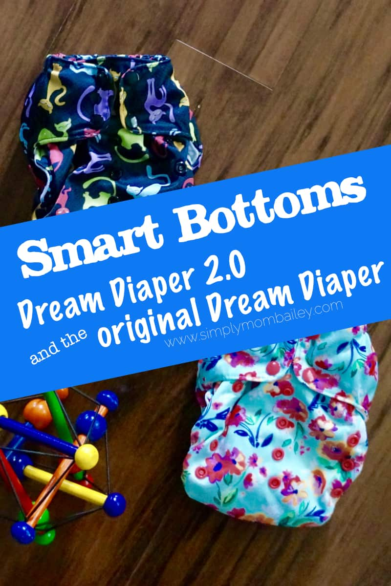 Smart Bottoms Dream Diaper Comparison - #clothdiapers