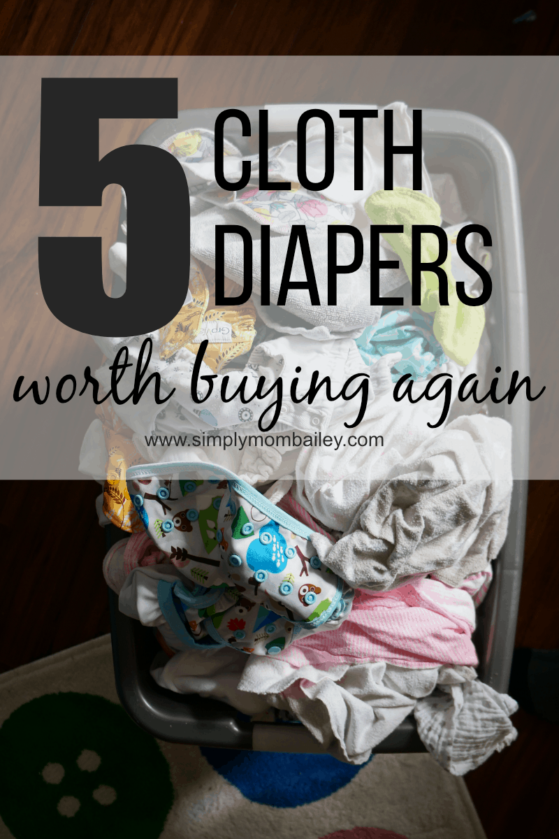 5 Cloth Diapers worth buying again - My favourite cloth diapers this cloth diaper bought this month are a must have, best buy, purchase for any #makeclothmainstram parent or crunchy mama #clothdiapers
