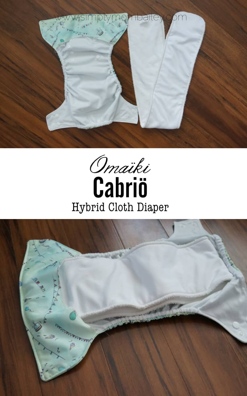 Omaiki Cabrio Hybrid Cloth Diaper #makeclothmainstream #clothdiapers - Best Cloth Diaper for Babies and Toddlers - Easy to Use Cloth Diaper - Budget Friendly - Cheap & Affordable Diaper - Green Choices for Babies - #Canada Made in Canada - Made in Quebec