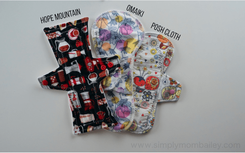 Switching to Mama Cloth #ditchthedisposables Green your period with reusable menstrual products such as Cloth Pads. Featuring WAHM cloth menstrual pads from Hope Mountain Cloth #menstruation #greenyourlife #crunchymama Things to go green.