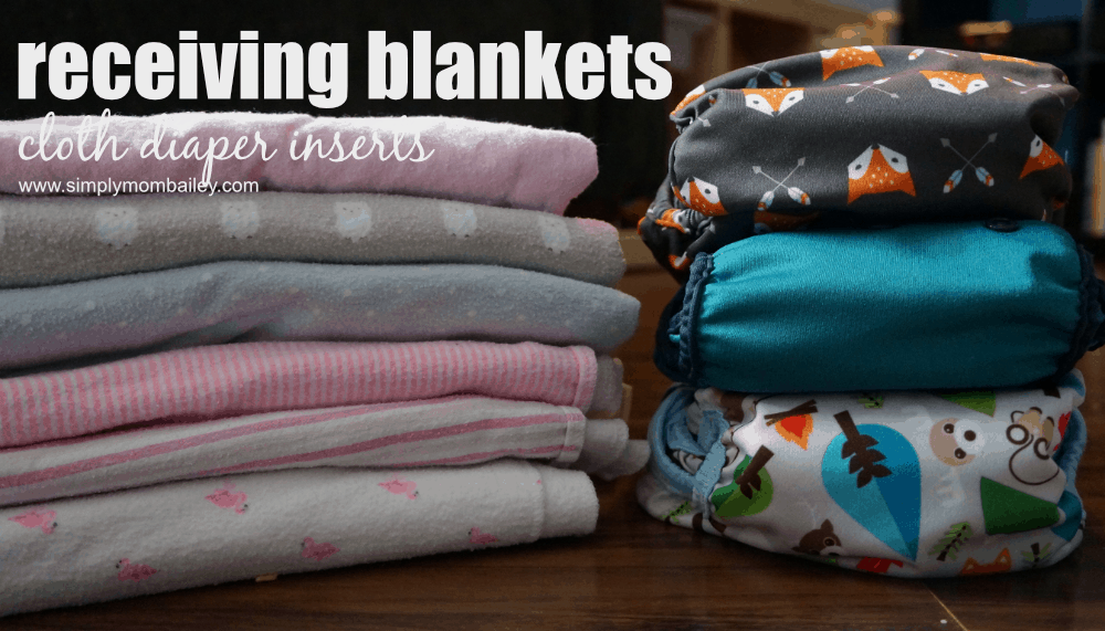 Receiving blankets are one of the best options for cheap, affordable DIY cloth diapers. Easy to use, easy to wash/laundry, these little blankets will easily take on the task of most heavy wetters. #clothdiapers #makeclothmainstream #frugalmama #budgetfriendly