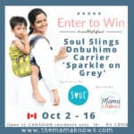 Soul Slings Onbuhimo Baby Carrier GIVEAWAY