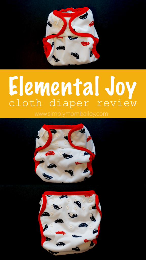 Sizing on the Elemental Joy Cloth Diaper