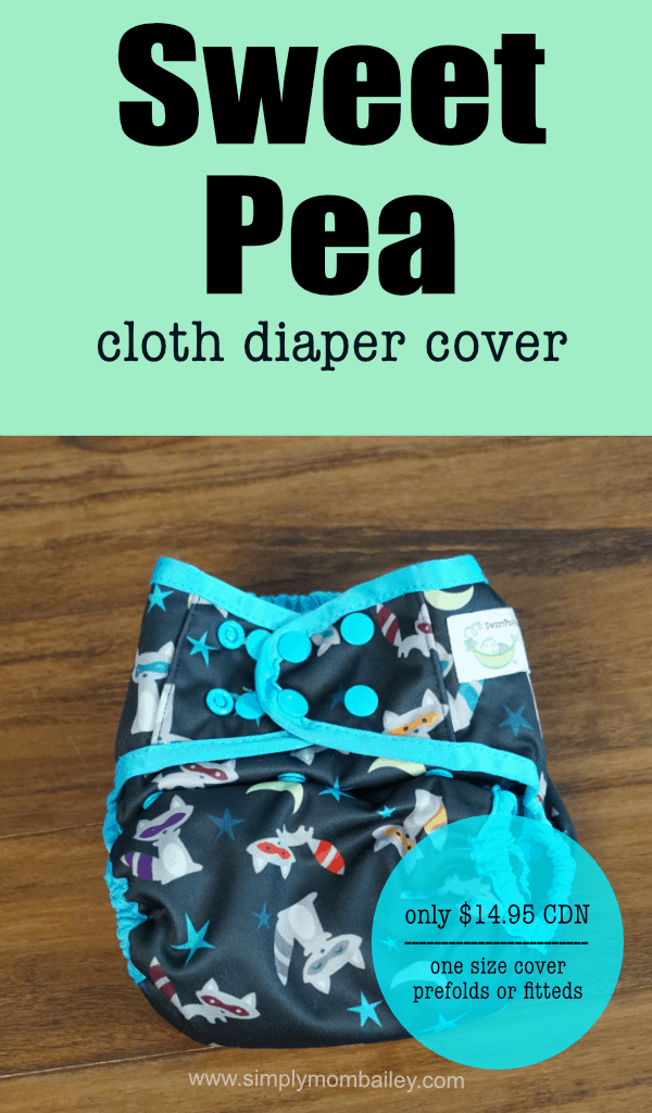 Economical and Versatile, the Sweet Pea Cloth Diaper Cover is a great choice for families #clothdiapers #diapers #baby #infants