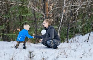 Dress Like an Onion: Babywearing with the Change of Seasons