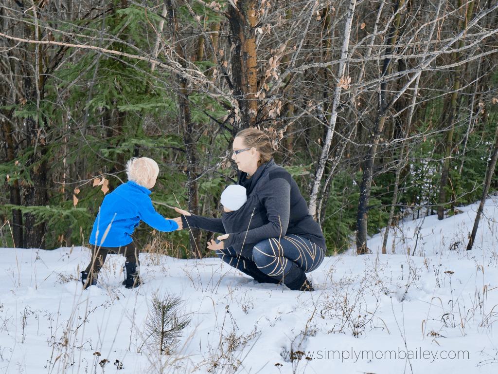 Winter Babywearing