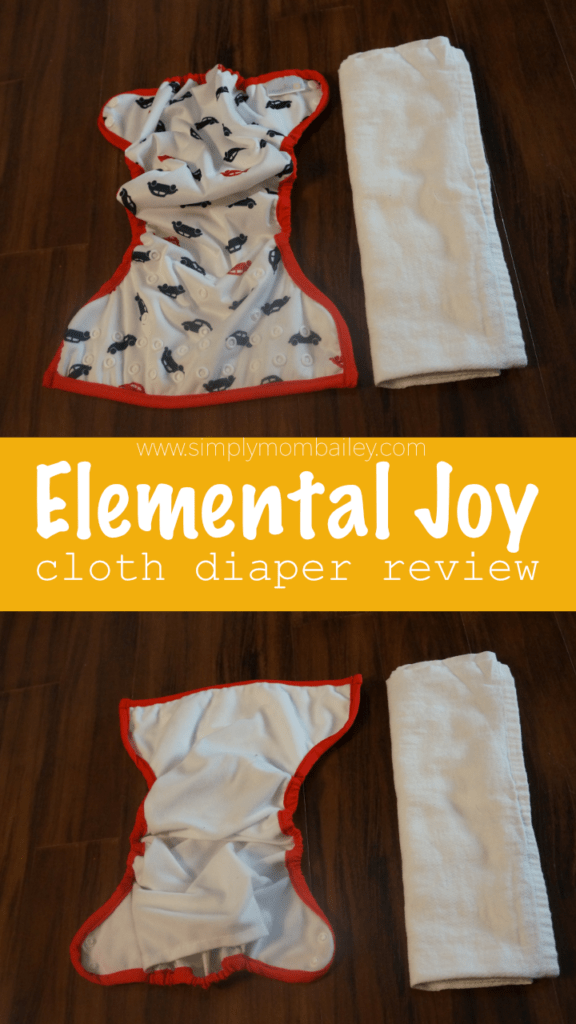 Elemental Joy Cloth Diaper #clothdiaper #budgetfriendly #bestclothdiapers #cheap #madeinusa