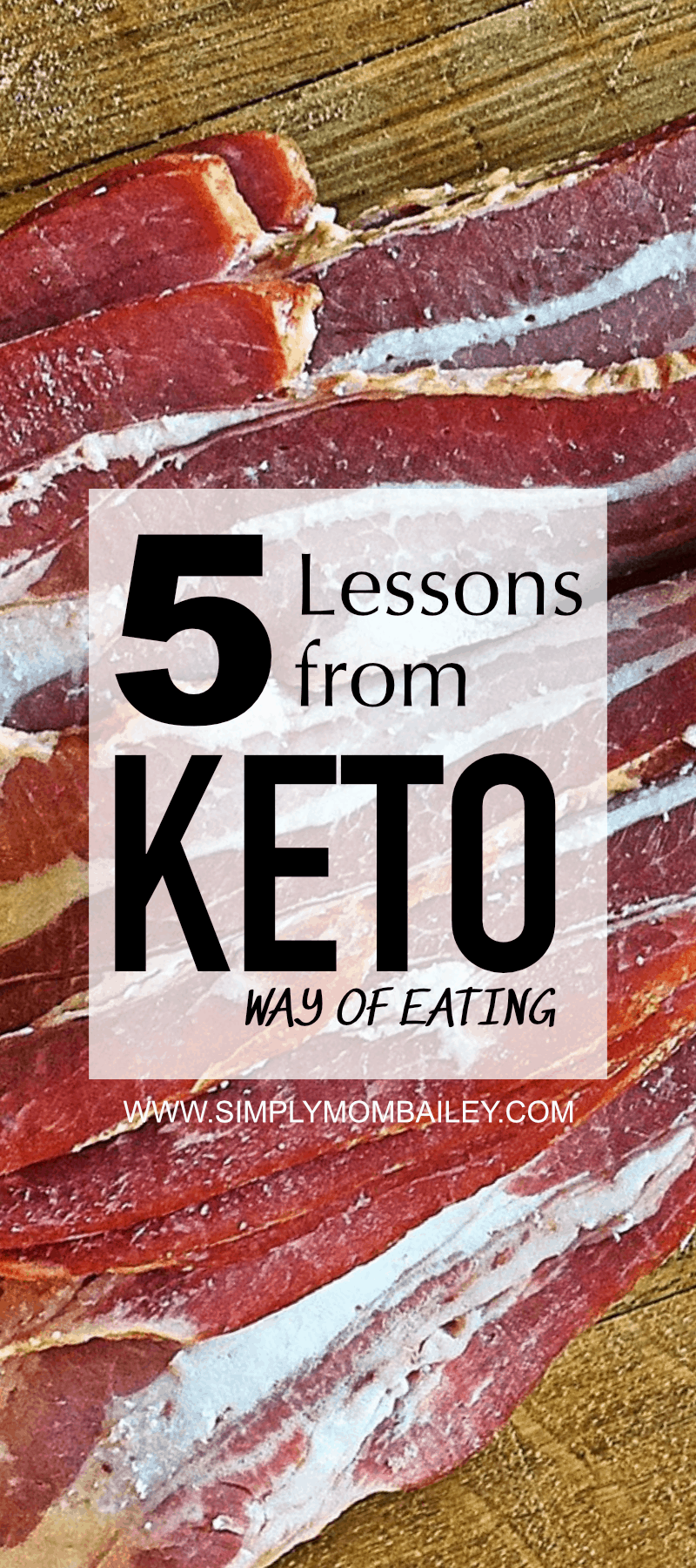 5 Lessons from Keto Diet