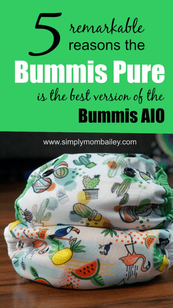 5 Remarkable Reasons the Bummis Pure is the best Bummis All in one Cloth Diaper #clothdiapers #makeclothmainstream #diapers #ecoparenting #environment #canada #laundry #madeincanada