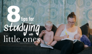 Back to College: How to Survive Studying with Little Kids