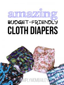 Budget Friendly Cloth Diaper Options for Moms