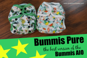 5 Reasons Bummis Pure is Remarkable [a comparison to the previous Bummis AIO]