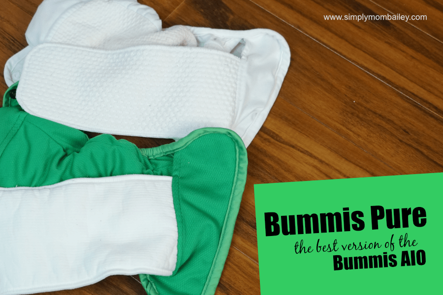 Bummis Pure compared to the bummis aio interior