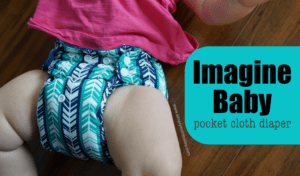 Affordable and Budget friendly, the Imagine Baby Pocket Cloth Diaper is a great choice #clothdiapers #budgetfriendly #diaper #baby #infant #ecomom
