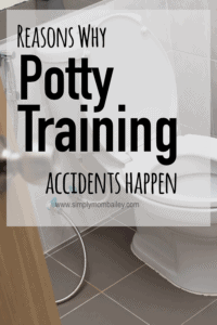 Potty Training Accidents Happen