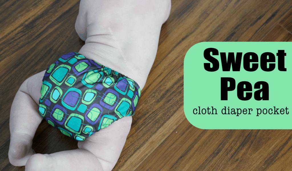 Sweet Pea Pocket Cloth Diaper