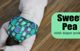 Affordable Cloth Diapers: Sweet Pea Pocket Cloth Diaper