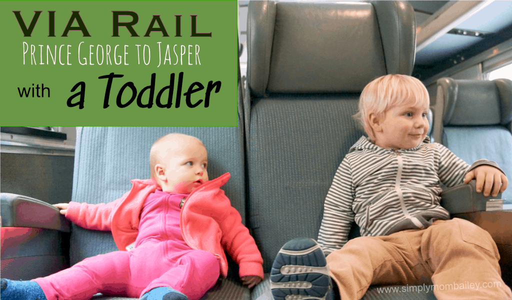 Train Travel on the Via Rail with Kids