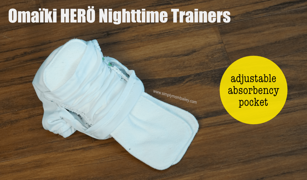 Looking for a training pant to handle a bedwetting child? Check out the Omaiki Hero Nightime trainers. #pottytraining #bedwetting #clothdiapers #reusable #madeinCanada #toddlers