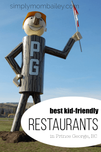 Best Kid Friendly Restaurants in Prince George, BC