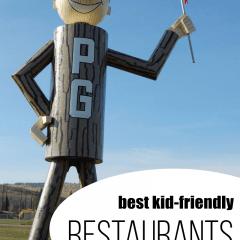 Best Kid Friendly Restaurants in Prince George, BC
