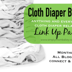 Cloth Diaper Blogger Link Up Party – Week 1