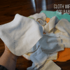 How to Use Cloth Wipes for Cloth Diapering